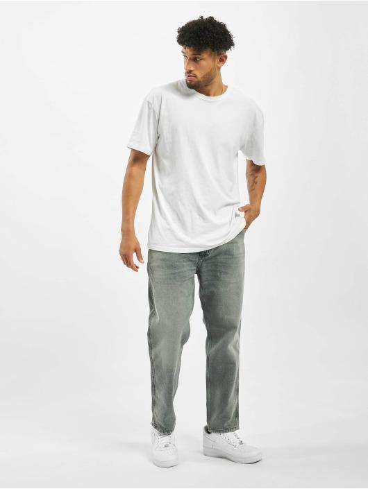 Carhartt WIP Straight Fit Jeans Penrod grau
