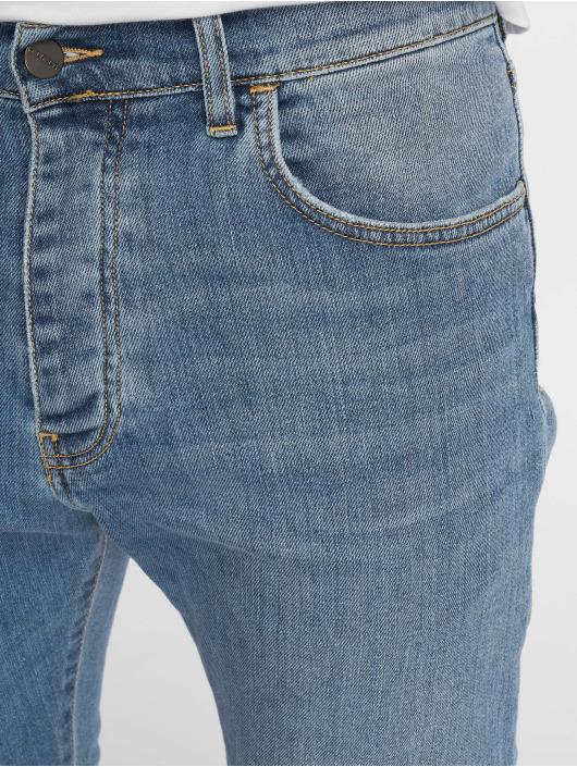 Carhartt WIP Straight Fit Jeans Coast modrý