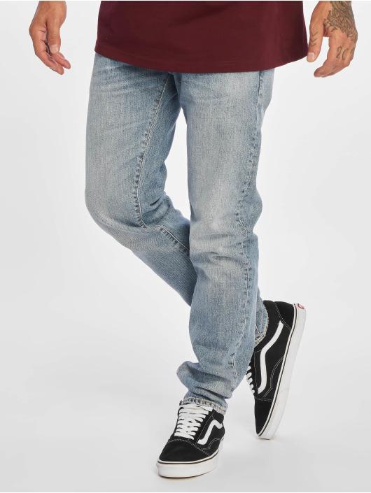Carhartt WIP Straight Fit Jeans Klondike modrý