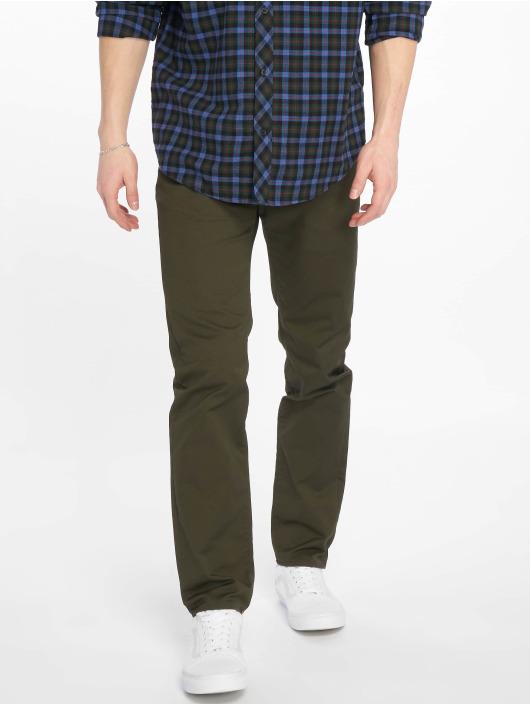 Carhartt WIP Straight Fit Jeans Klondike oliv