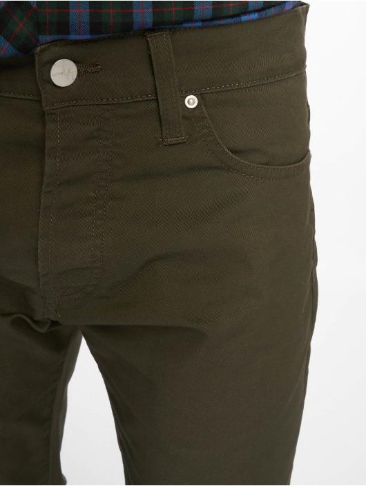 Carhartt WIP Straight Fit Jeans Klondike olive