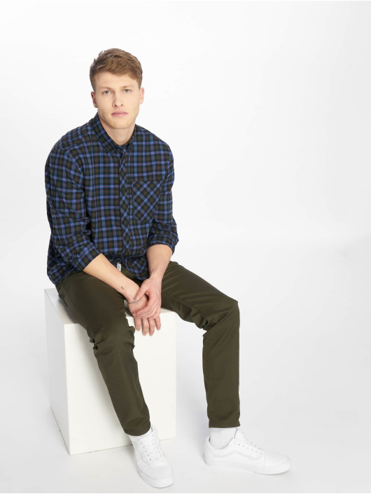 Carhartt WIP Straight Fit Jeans Klondike olivový