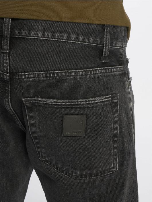 Carhartt WIP Straight Fit Jeans Maitland Klondike schwarz