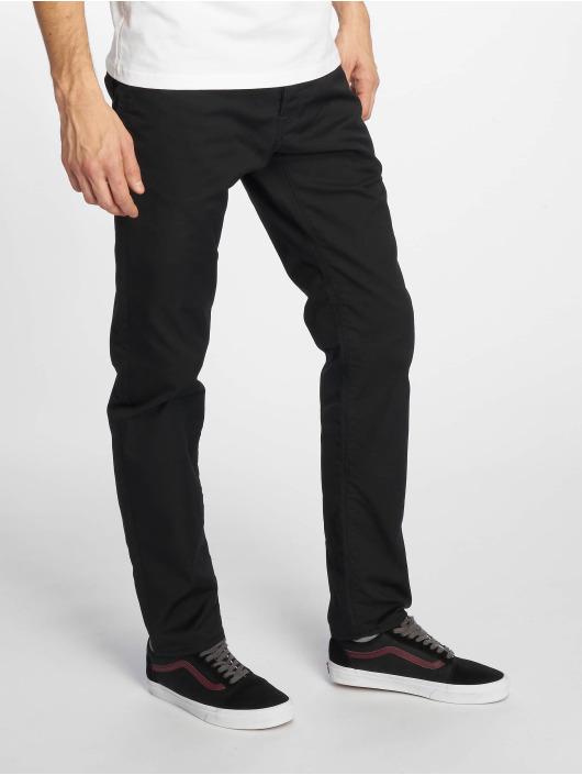 Carhartt WIP Straight Fit Jeans Klondike schwarz
