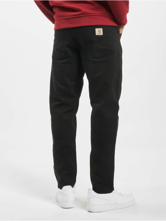 Carhartt WIP Straight Fit Jeans Jacob svart
