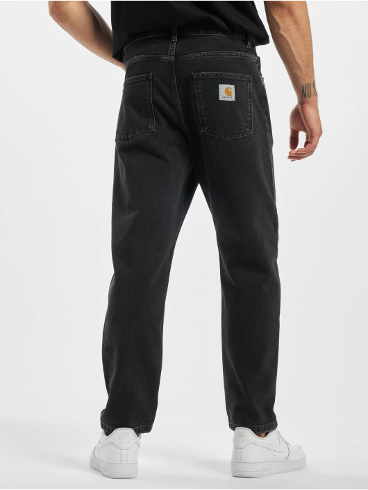 Carhartt WIP Straight Fit Jeans Newel svart
