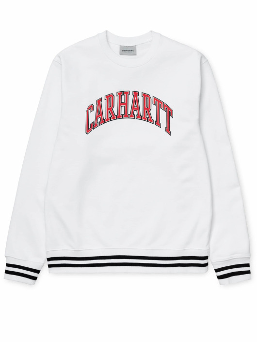 Carhartt WIP Swetry Knowledge bialy