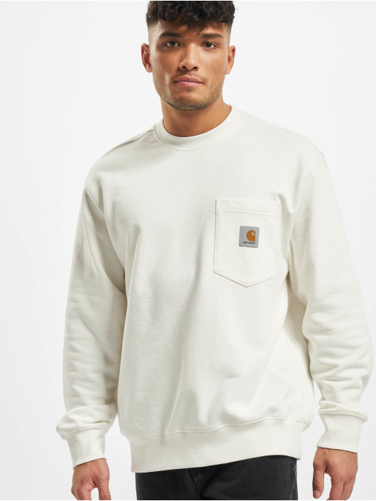 Carhartt WIP Swetry Pocket bialy