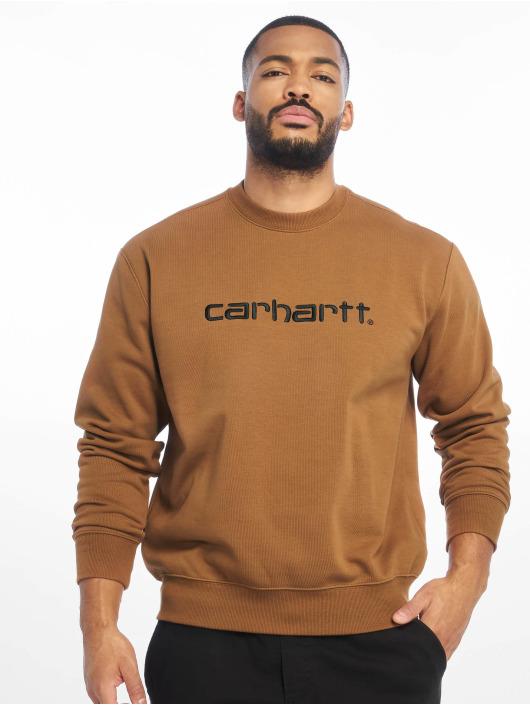 Carhartt WIP Swetry WIP brazowy
