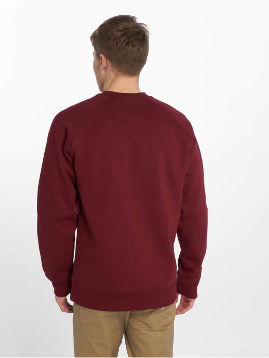 Carhartt WIP Swetry Chase czerwony