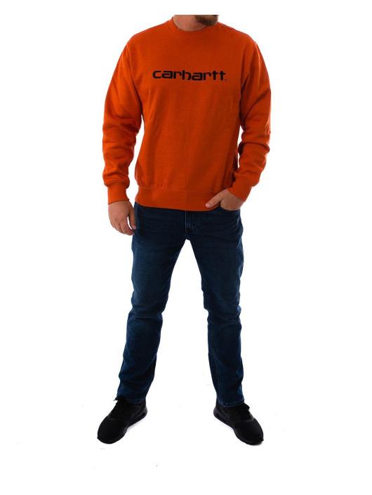 Carhartt WIP Swetry Sweatshirt pomaranczowy