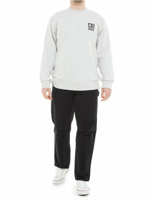 Carhartt WIP Swetry State Patch szary