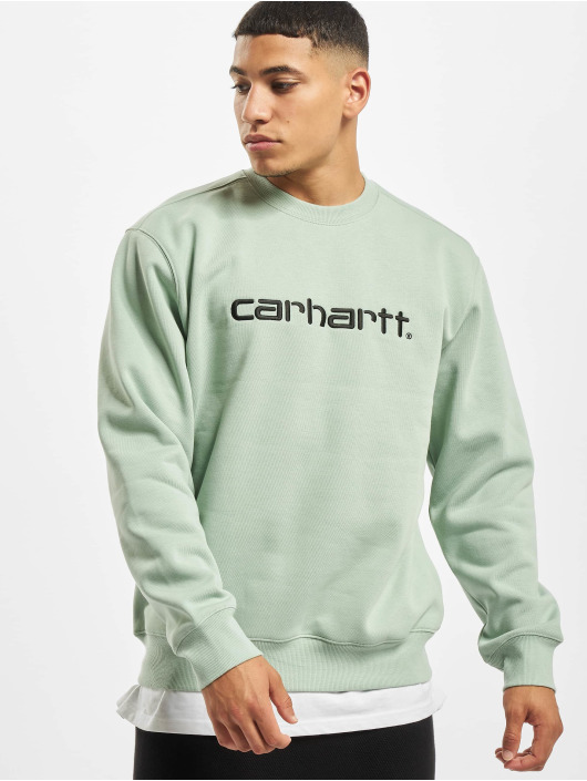Carhartt WIP Swetry Label zielony