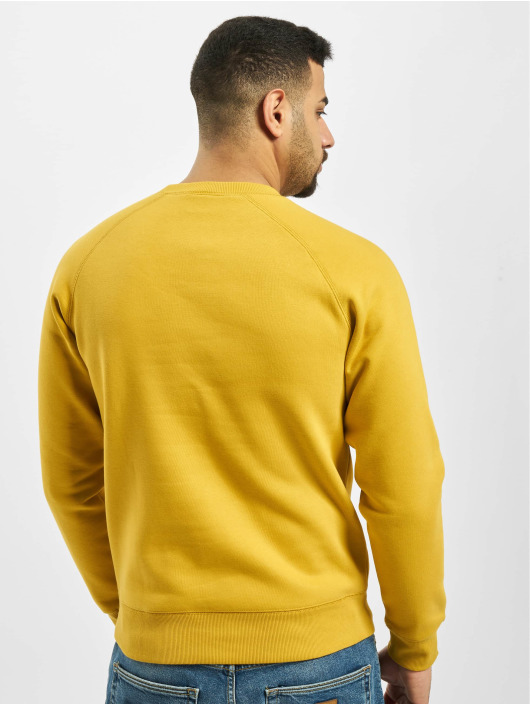 Carhartt WIP Swetry Chase zloty