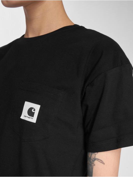 Carhartt WIP T-paidat Carrie Pocket musta