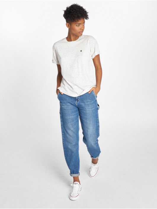 Carhartt WIP T-paidat Naps valkoinen