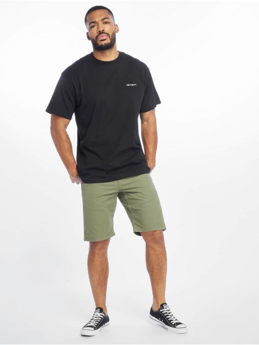 Carhartt WIP T-Shirt Script Embroidery black