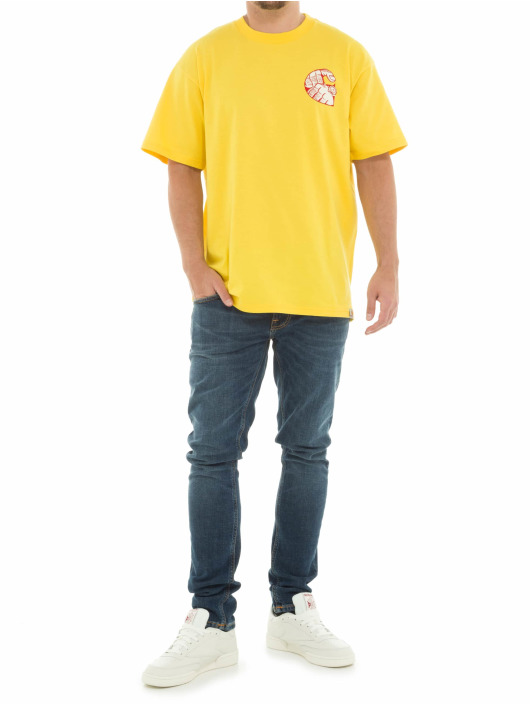 Carhartt WIP T-Shirt Time Is Up gelb
