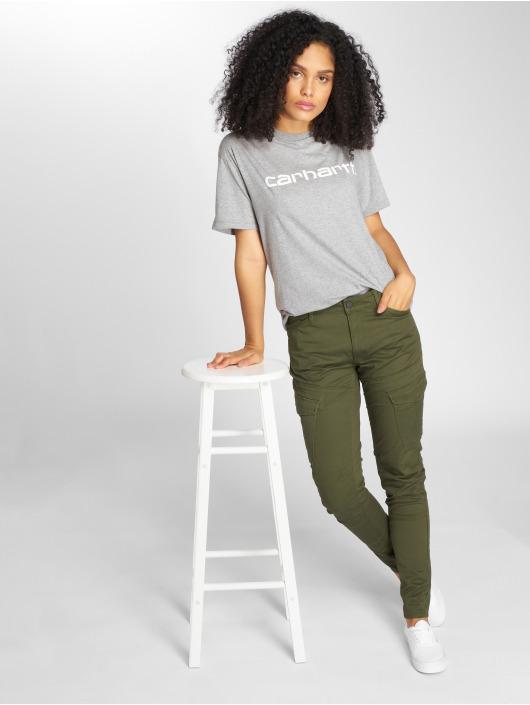 Carhartt WIP T-Shirt Script grau