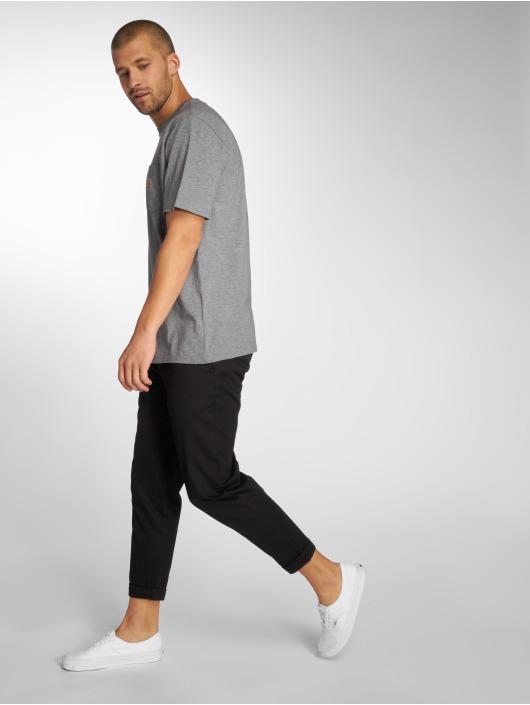 Carhartt WIP T-Shirt Pocket grau