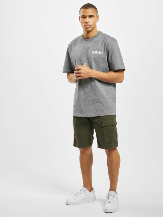 Carhartt WIP T-Shirt College Script grau