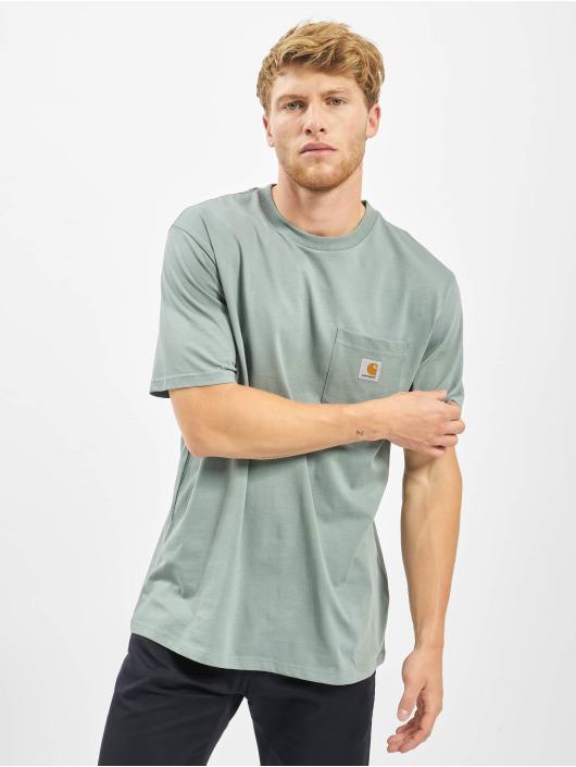 Carhartt WIP T-Shirt Pocket green