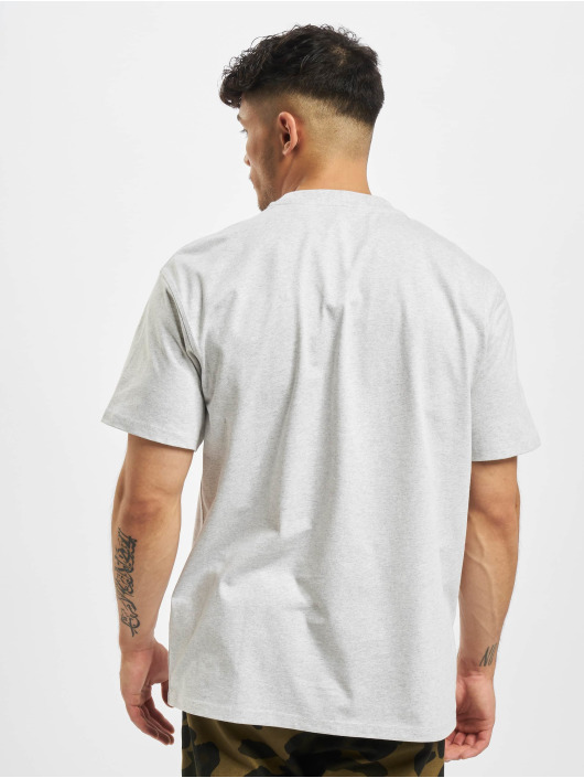 Carhartt WIP T-Shirt American Script grey
