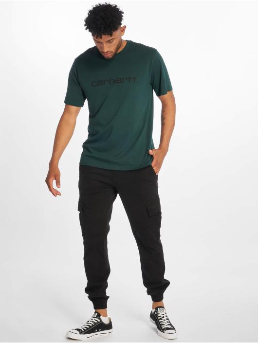 Carhartt WIP T-shirt Script grön