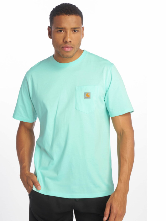 Carhartt WIP T-Shirt Pocket grün