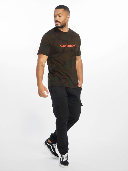 Carhartt WIP T-shirt WIP Script kamouflage