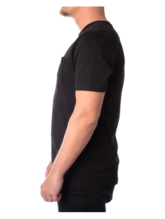 Carhartt WIP T-Shirt Pocket schwarz