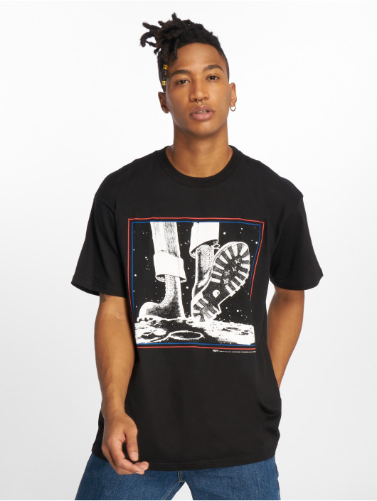 Carhartt WIP T-Shirt Trojan Moonstomp schwarz