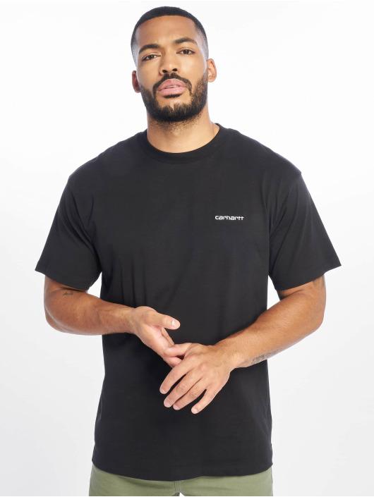 Carhartt WIP T-Shirt Script Embroidery schwarz
