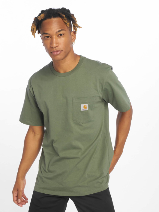 Carhartt WIP T-shirt Pocket verde