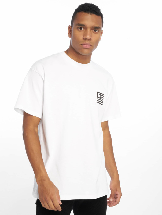 Carhartt WIP T-Shirt State Patch weiß