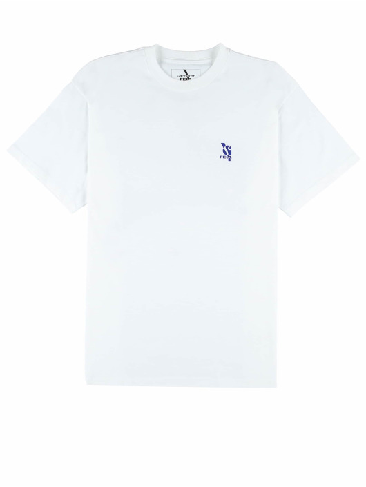 Carhartt WIP T-Shirt Power Vagabonds weiß
