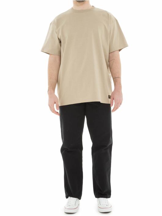 Carhartt WIP T-Shirty Military bezowy