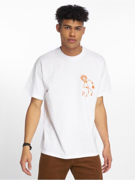 Carhartt WIP T-Shirty Trojan King Of Sound bialy