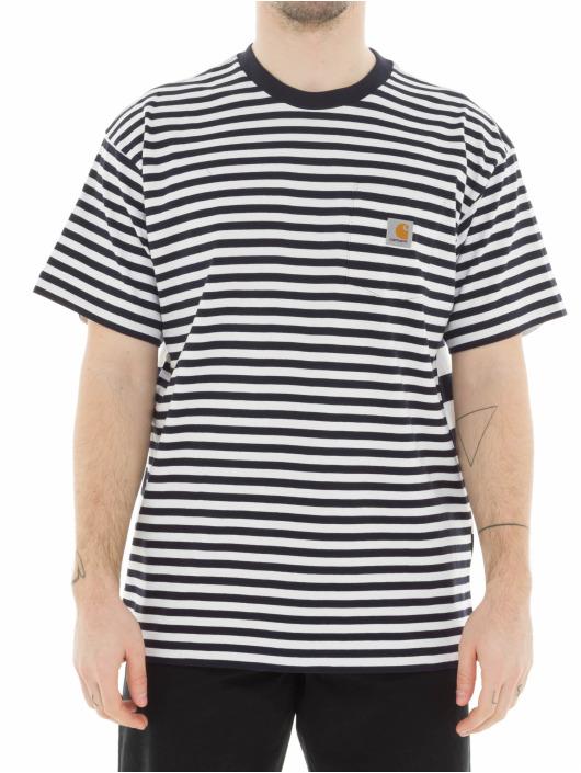 Carhartt WIP T-Shirty Barkley Pocket bialy