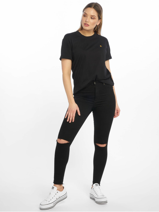 Carhartt WIP T-Shirty Chase czarny