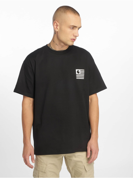 Carhartt WIP T-Shirty State Patch czarny
