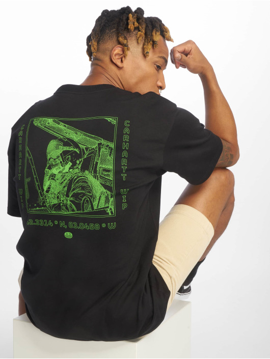 Carhartt WIP T-Shirty Pilot czarny