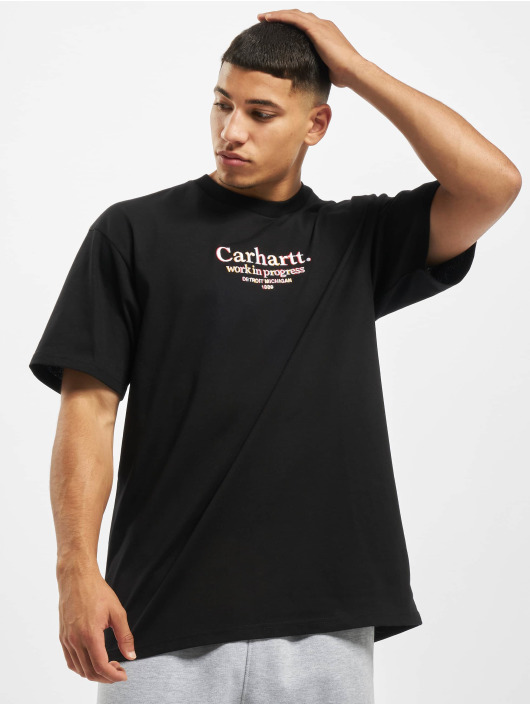 Carhartt WIP T-Shirty Commission czarny