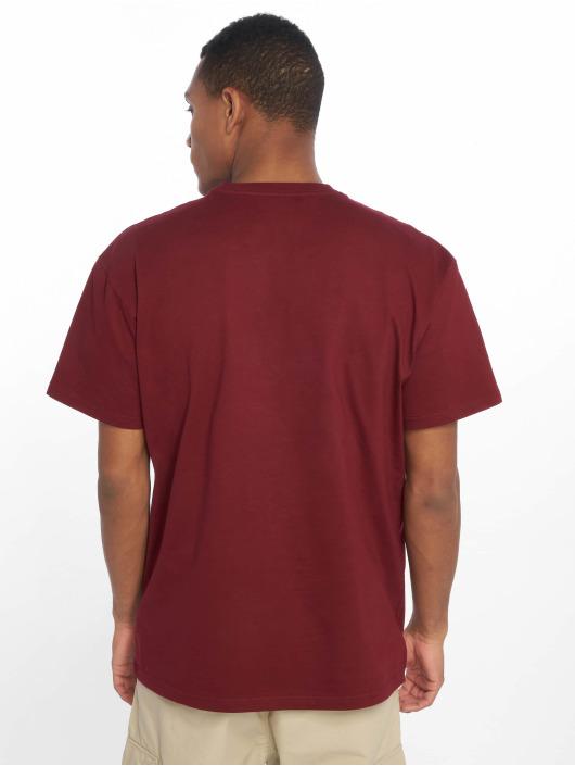 Carhartt WIP T-Shirty Chase czerwony