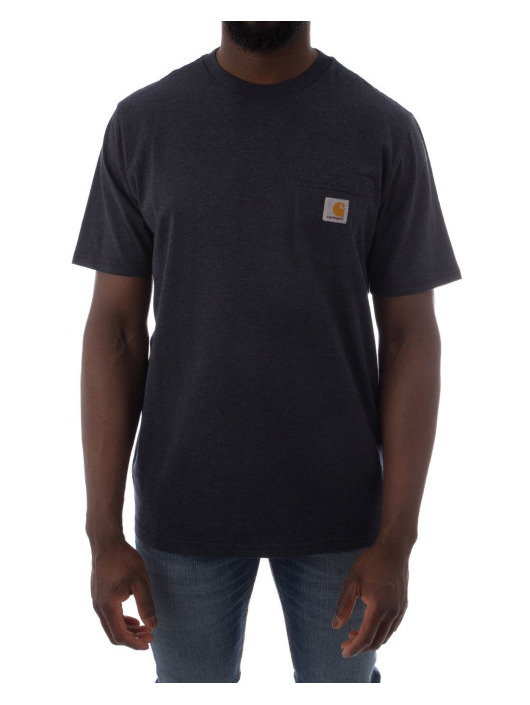 Carhartt WIP T-Shirty SS Pocket niebieski