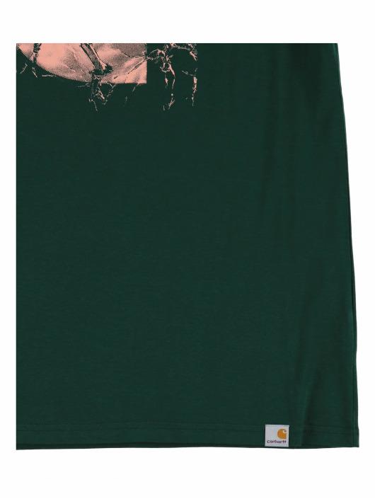 Carhartt WIP T-Shirty Broken Glass zielony