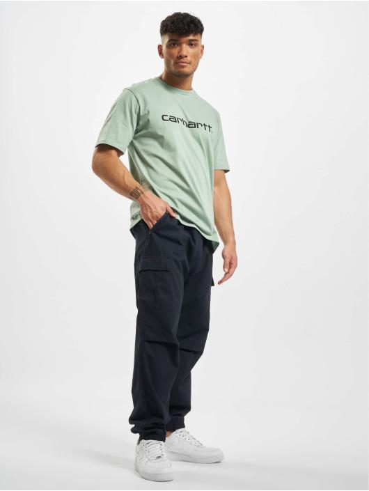 Carhartt WIP T-Shirty Script zielony