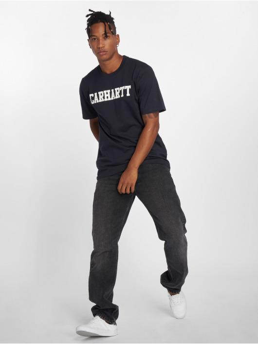 Carhartt WIP T-skjorter College blå