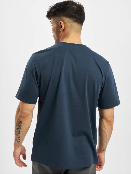 Carhartt WIP T-skjorter Script blå