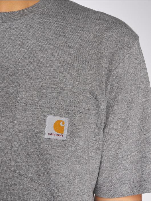 Carhartt WIP T-skjorter Pocket grå
